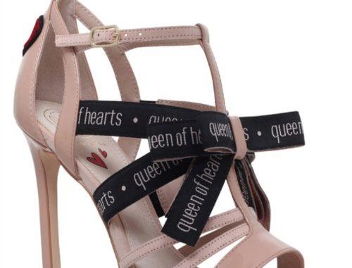 KG Kurt Geiger 'hearts' sandals