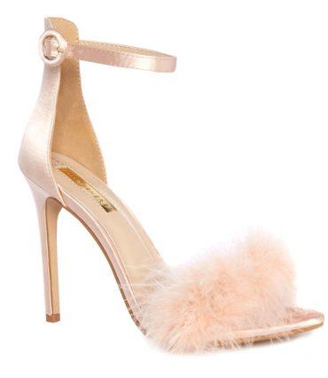 Primark pink feather sandals
