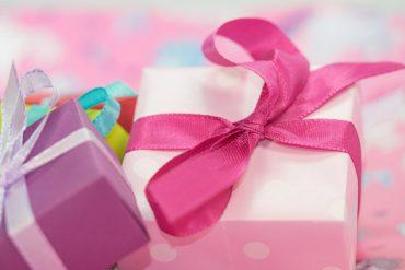 pink christmas gift