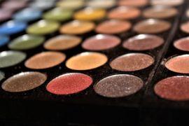 Organic eyeshadow palette